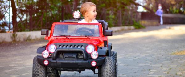 Kid jeep coverage